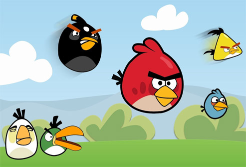 Angry birds al rescate