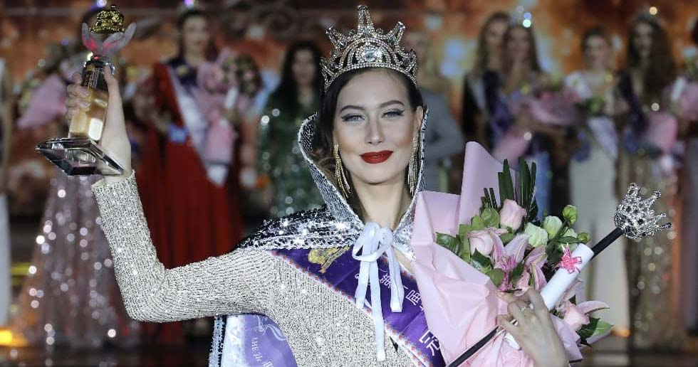 La rusa Anastasiia Ushakova ganó el 31 Miss Model of the World